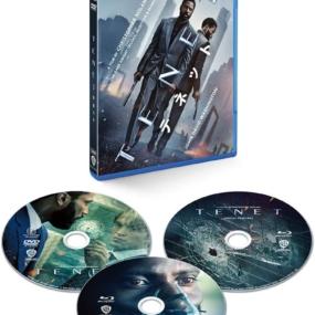 TENET テネット ブルーレイ&DVDセット (3枚組/ボーナス・ディスク付) [Blu-ray] 買取